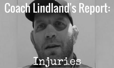 Coach Matt Lindland talks about injuries from Greco-Roman wrestling