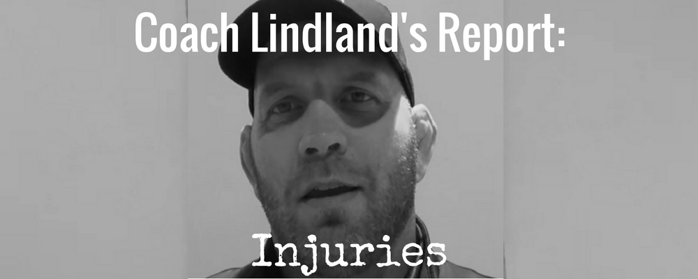 Coach Matt Lindland talks about injuries from Greco-Roman wrestling