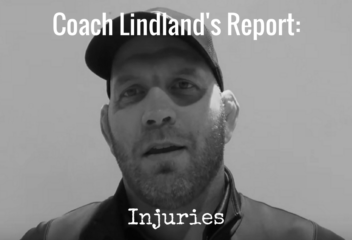 Lindland's Report – injuries