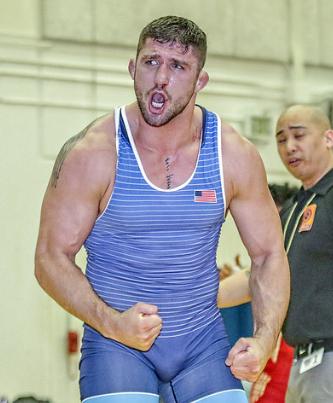 Geordan Speiller, 2017 Dave Schultz Memorial International champion, 80 kg