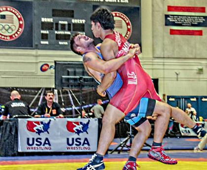 Geordan Speiller, 2017 Dave Schultz champ, 80 kg