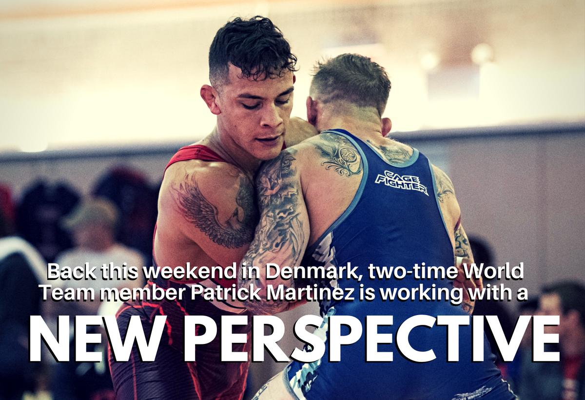 Patrick Martinez, wrestling mindset, euro tour