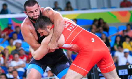 Russia wins 2017 Greco-Roman World Cup final versus Azerbaijan