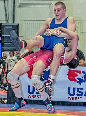 Alec Ortiz, Minnesota Storm Greco-Roman wrestling