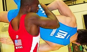 Kendrick Sanders, 75 kg
