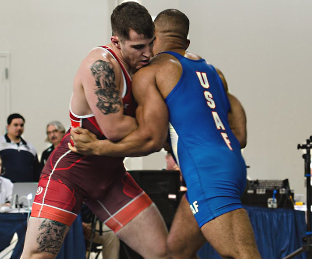 Lucas Sheridan at 2017 Armed Forces Championships