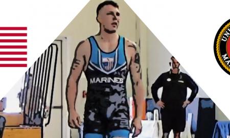 John Stefanowicz, US Marines, 71 kg, 2017 Greco-Roman World Team Trials