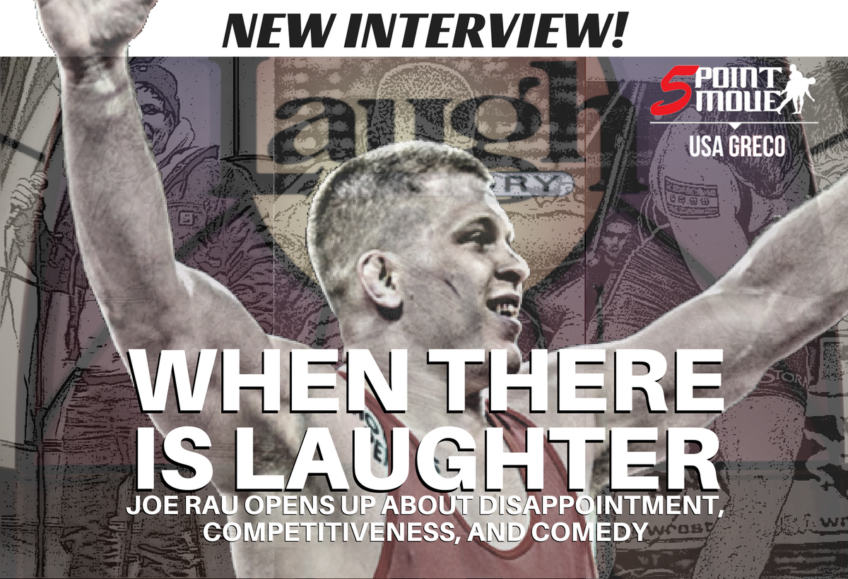 Joe Rau interview, When There Is Laughter