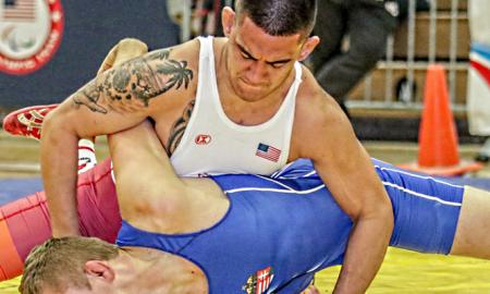 anthonie linares nmu greco-roman wrestling