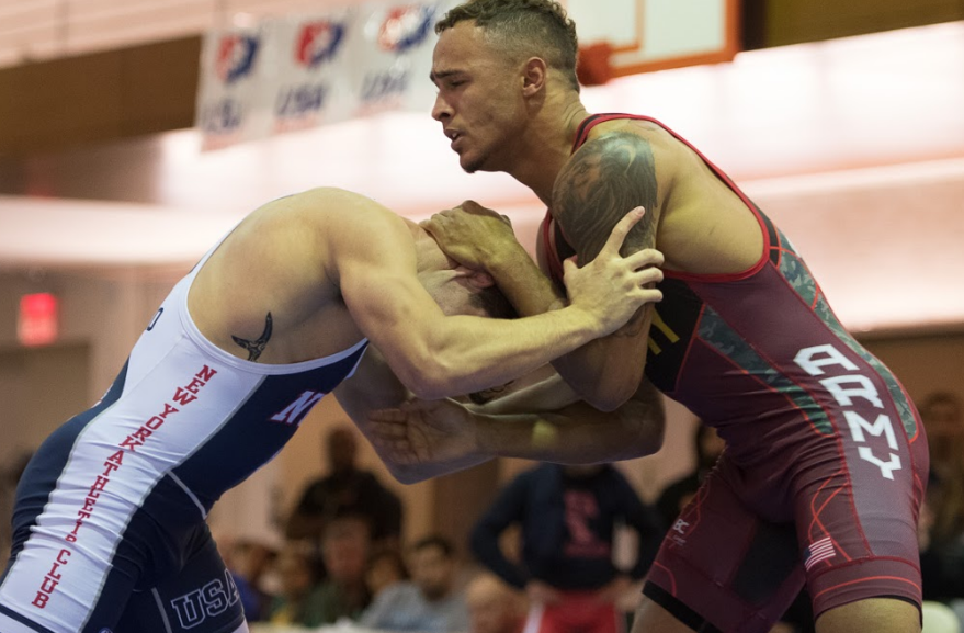 Chris Gonzalez, 71 kg, NYAC, 2017 US Greco-Roman World Team Trials
