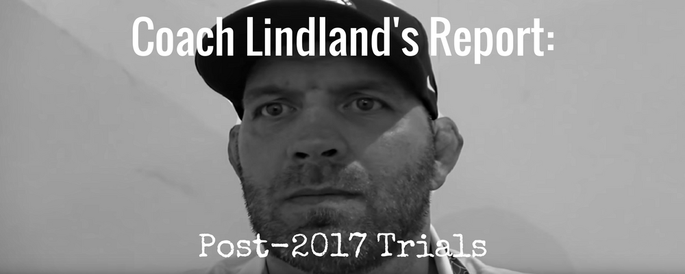 us national team head coach matt lindland 2017 post world team trials