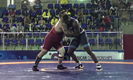 robby smith at the 2017 greco-roman pan am championships