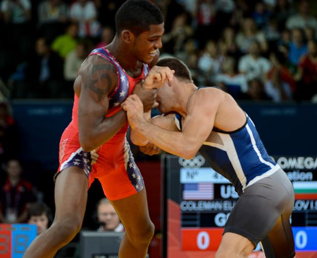 Ellis Coleman, 2012 Olympics