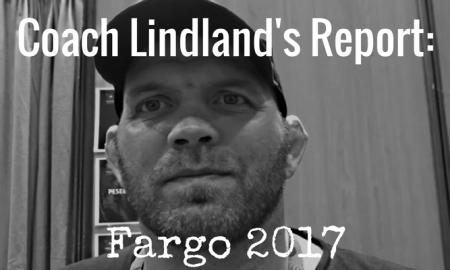 Coach Matt Lindland, Fargo 2017