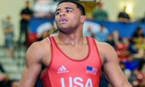 g'angelo hancock is 17th in the july uww greco-roman rankings