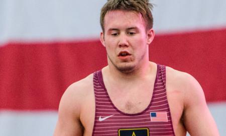 Mason Manville, 2017 US Greco-Roman World Team Camp