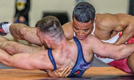 rob hermann coaches Jesse Porter, 75 kg, NYAC-OTS
