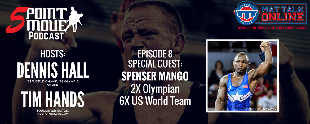 spenser mango, five point move podcast