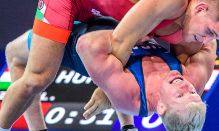 cheney haight on day 2 of the 2017 greco world championships