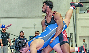 g'angelo hancock, 2017 junior greco worlds