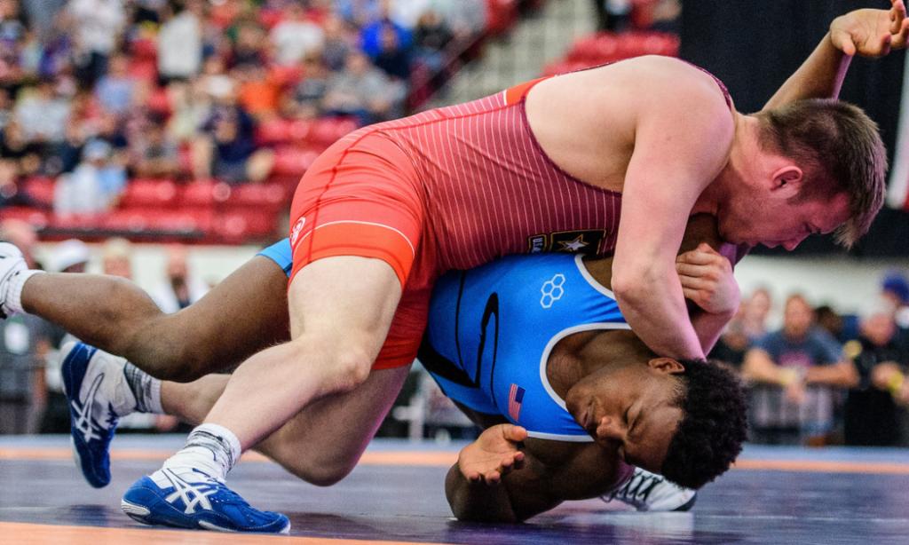 Mason Manville, 75 kg, 2017 Greco-Roman World Championships