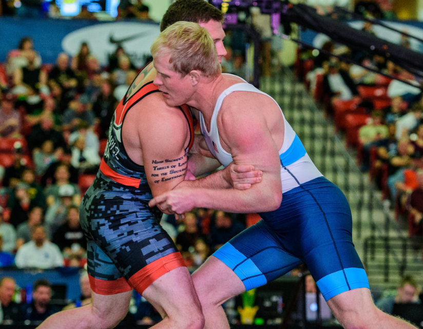 2017 Greco-Roman World Championships 80 kg - Cheney Haight, USA