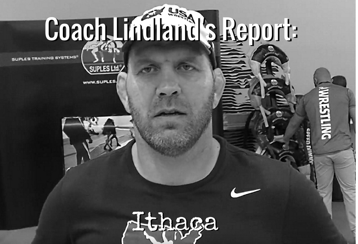 Coach Matt Lindland, Ithaca, NYRTC