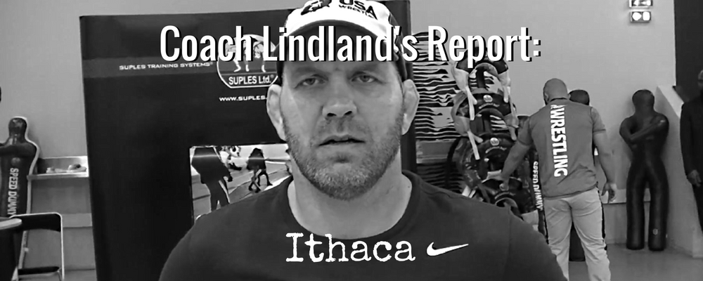 US National Greco-Roman coach Matt Lindland