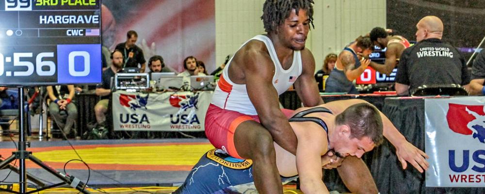 Khymba Johnson, 98 kg, Eduardo Campbell Cup