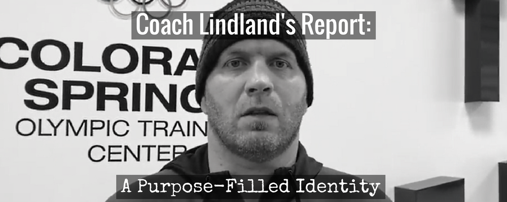 us coach matt lindland. october 2017