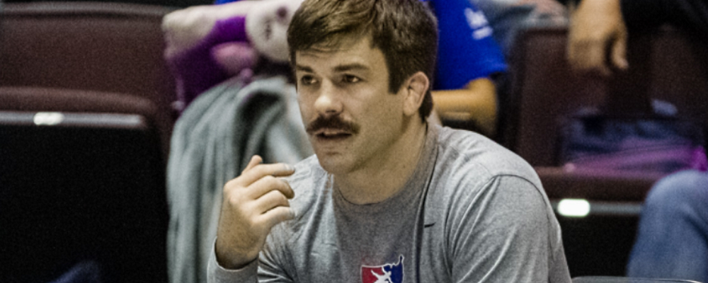 andy bisek, us u23 greco-roman world team head coach
