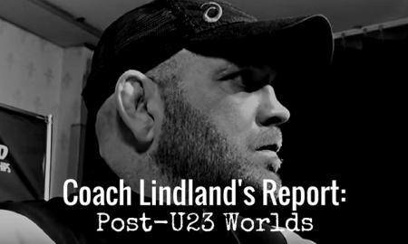 US Coach Matt Lindland, 2017 U23 World Championships