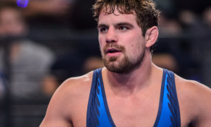 Patrick Smith comes in 19th in November's UWW Greco World rankings