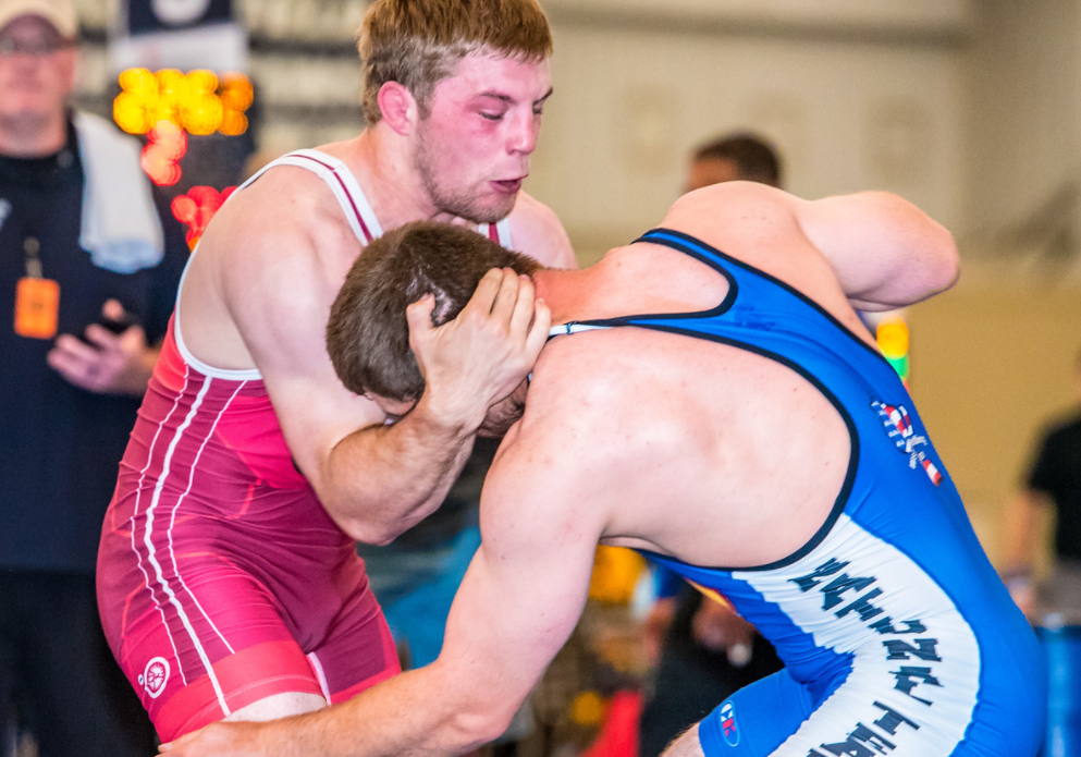 Barrett Stanghill, 85 kg, US U23 Greco-Roman World Team