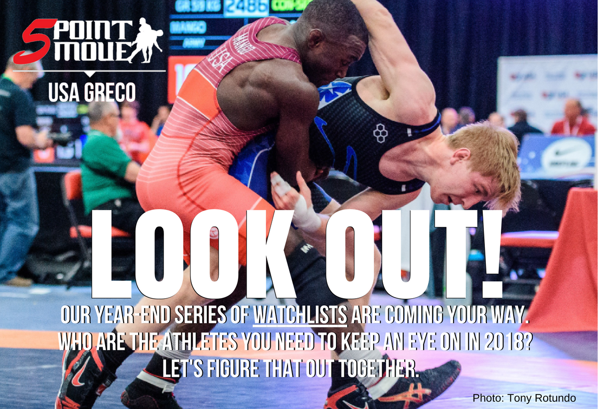 2018 USA Greco-Roman wrestlers to watch