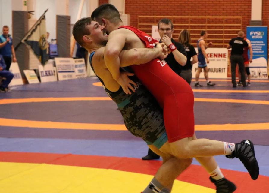 Daniel Miller, 97 kg, US Marine Corps Greco-Roman
