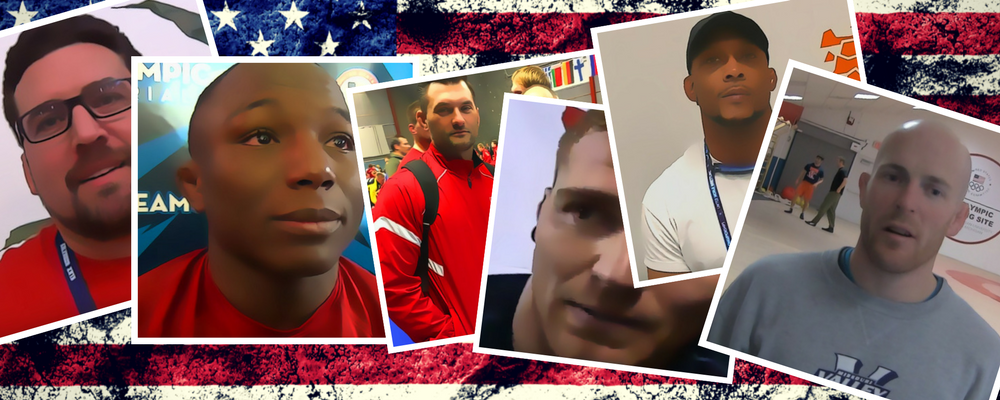 2018 US Greco-Roman World Team Coaches