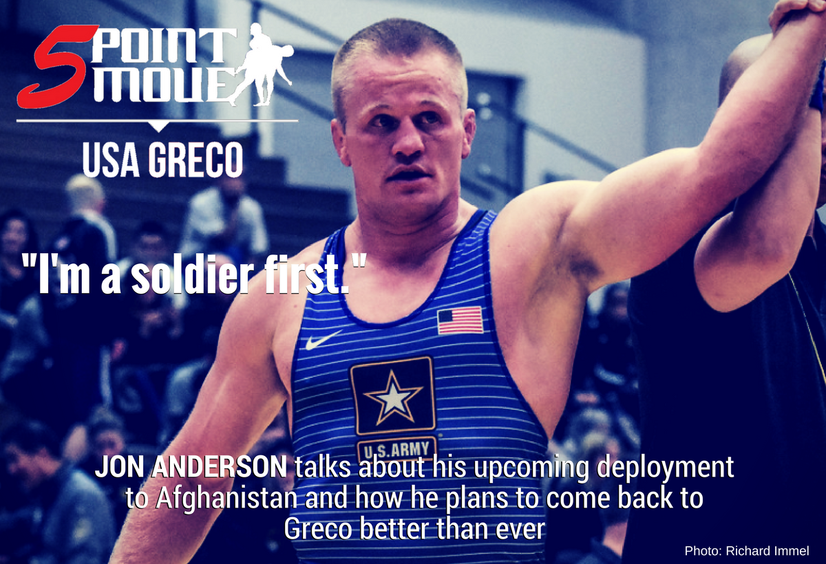 Jon Anderson, Afghanistan