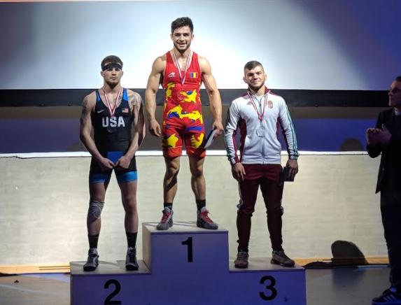 Jesse Thielke, 2018 Thor Masters bronze medalist