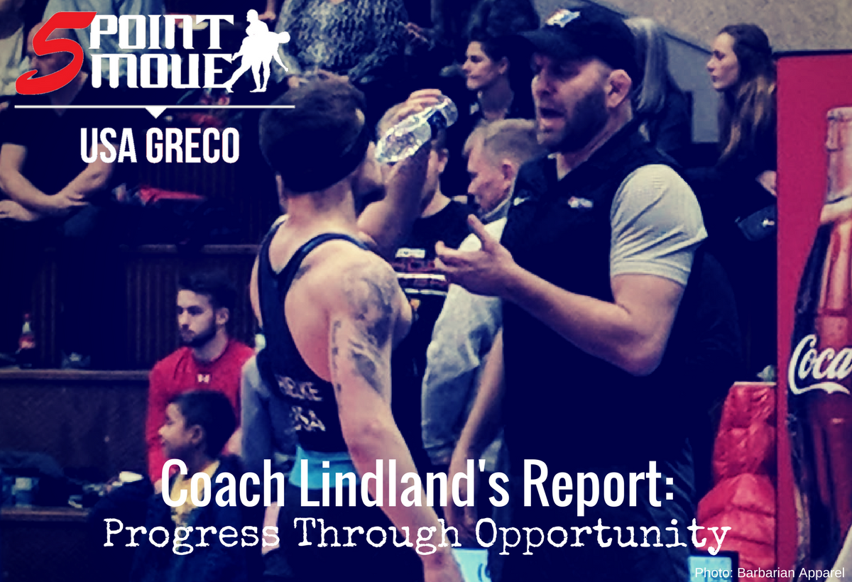 Coach Lindland's Report, March 2018
