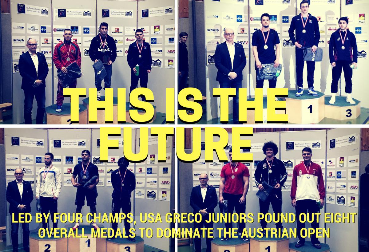 Team USA Juniors win the 2018 Austrian Open