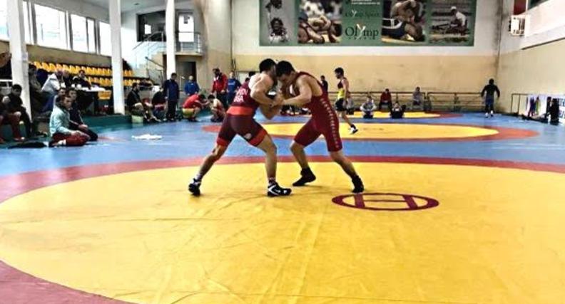 ildar hafizov training in bulgaria
