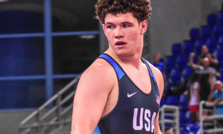 cohlton schultz, 2018 junior greco-roman nationals