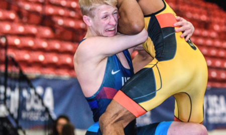 dalton roberts, 2018 us senior greco-roman nationals