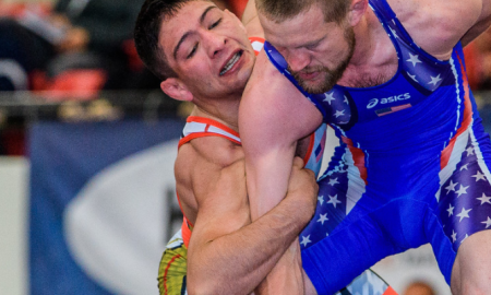 max nowry, 2018 us senior greco-roman national champ