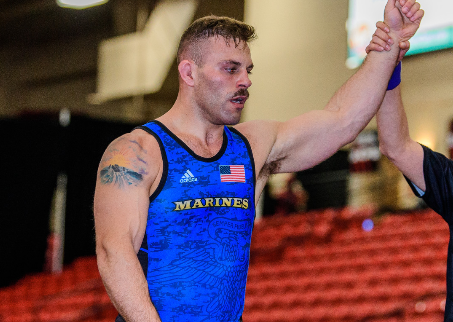 Daniel Miller, Marines Greco-Roman