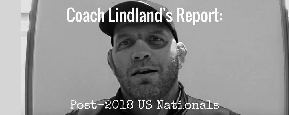 Coach Matt Lindland Post-2018 US Nationals