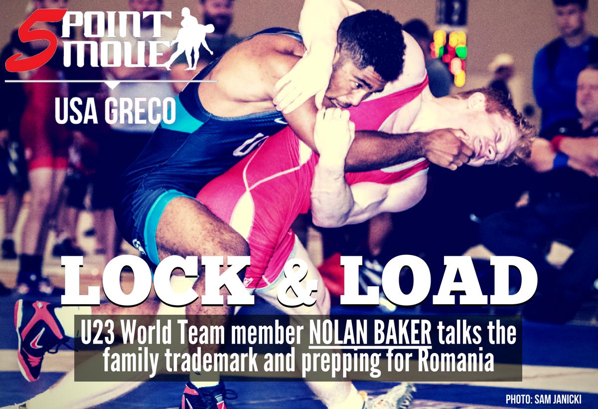 Nolan Baker headlock