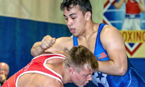 peyton omania, 2018 uww junior greco-roman world team trials
