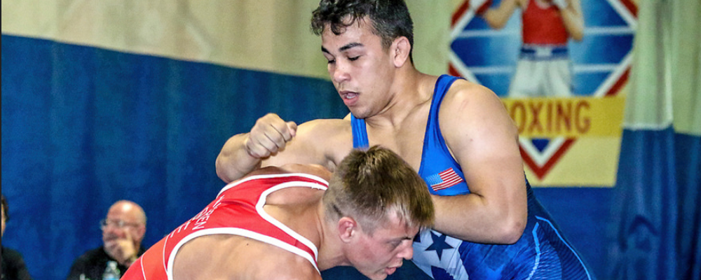 peyton omania, 2018 uww junior greco-roman world team trials